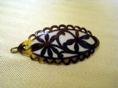 Vintage Hairslide with Art Nouveau Design ( SOLD)